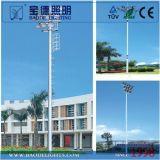 Alta 40m torretta di illuminazione esterna dell'albero di 15m 20m 22m 25m 30m 35m con il certificato dell'aeroporto