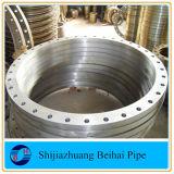 Glissade plate de face de l'acier du carbone Cl300 sur la norme ANSI B16.5 de bride