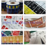 Etiqueta autoadhesiva auta-adhesivo del papel revestido del molde de Custome