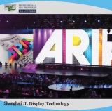 64X64 di alta risoluzione punteggia lo schermo di visualizzazione dell'interno del LED di colore completo del modulo P4 di SMD