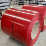 La couleur de matériau de construction de PPGI a enduit la bobine en acier galvanisée enduite d'une première couche de peinture