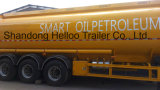 3 scompartimenti 42000 litri della petroliera del camion di rimorchio semi
