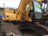 Maquinaria de construção de segunda mão usada da lagarta da máquina escavadora do gato 320c