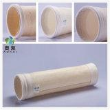 Le mélange d'asphalte utilisé personnalisé de l'aramide sac du filtre à poussière