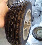8 Zoll-flach freies halb pneumatisches Fußboden-Kehrmaschine-Rad