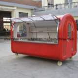 Caminhão móvel do alimento da bebida, caminhão do alimento para a venda Europa Jy-B32