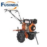 Cultivateur Multi-Fuction motoculteur, Cultivateur rotatif, Diesel timon