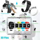 심박수를 가진 Touchscreen 지능적인 팔찌 및 IP67는 X9plus를 방수 처리한다