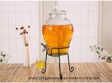 Heet verkoop de Automaat van de Drank van de Kruik van de Opslag van het Sap van het Glas met Kraan