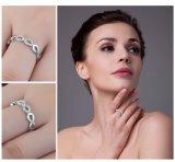Joyería pura de la plata esterlina 925 del anillo de la promesa del aniversario del amor de la joyería para el regalo de las mujeres