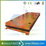platform van de Lift van de Schaar van de 3000kg3ton China Vrachtwagen het Statische met Ce