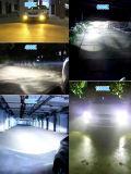 D4s con il faro dell'automobile LED ed il faro automatico di 6000lm X3 (H4 H7 H11 H13 H15 H16 Hb3 Hb4 9004)