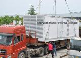 tipo Containerized gerador do cerco da potência Rated de 1500kVA 1200kw do diesel de Cummins