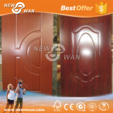 Piel MDF melamina HDF moldeado puerta / puerta de madera maciza melamina