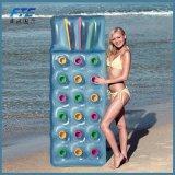 Сложенный поплавок бассеина стула раздувной для пляжа