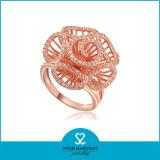 Diseño personalizado de anillo de traje Whosale