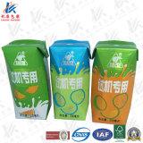 Paper/Al/PEの液体の食糧無菌包装材料