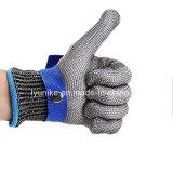Безопасности Resisant резки нержавеющей стали рабочие перчатки