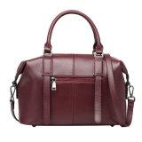 Dameleather Handbags Fashion Cowhide Tote-Beutel