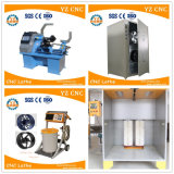 Horno electrostático industrial del polvo para curar las ruedas