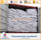 Cracking-PP resistencia monofilamento de fibra de alta resistencia