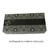 Rectángulo de empaquetado de papel impreso desplazamiento para los productos electrónicos