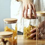 Hohes Quallity Speicher-Glasflaschen-Nahrungsmittelsafe