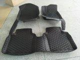 couvre-tapis en cuir 2014-2017 de véhicule de 5D XPE pour Hyundai Santa Fe