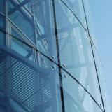 Fabrik, die 12mm Niedrig-Eisen ultra freies abgehärtetes Sicherheitsglas verkauft