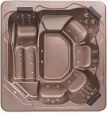 Baquet chaud de STATION THERMALE extérieure acrylique de massage de Monalisa de baquet de STATION THERMALE de Whirpool