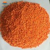 Пластиковый оранжевый цвет Mastrebatch