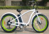 2017 새로운 디자인 전기 조수와 가진 뚱뚱한 타이어 바닷가 함 자전거