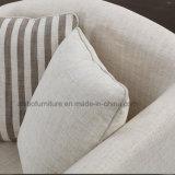 Design moderno mobiliário de sala 123 Sofá de tecido