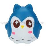 Le stress calmant Owl Squishy parfumés d'évent de poupée pu ralentir la hausse Squeeze de jouets pour enfants drôle de cadeau