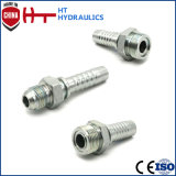 Maschio metrico 74 gradi del cono del montaggio di tubo flessibile idraulico 10711