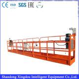 Plate-forme de fonctionnement Zlp1000 suspendue par construction galvanisée par aluminium