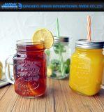 280ml effacent la tasse en verre de maçon de boissons glacées pour le boire