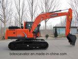 La Chine Baoding 150 excavatrices moyennes et petites suivies