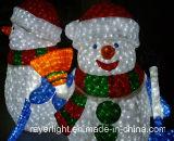 LEDのモチーフライトXmas LEDサンタの休日の装飾