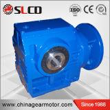 Caja de cambios de la serie S del eje de 90 grados moto reductor gusano helicoidal de la unidad de caja de velocidades