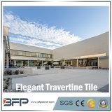 Mattonelle di pavimento di marmo eleganti del travertino per la pavimentazione/parete interne & esterne con superficie Polished
