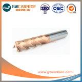 Solid Carbide Nano Fin de l'OCNA Moulin pour le découpage des métaux