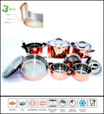 3ply Copper Clad Cookware Set