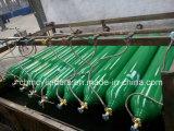 Cilindros de gás sem emenda da liga de alumínio do cavalo-força