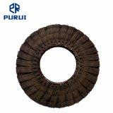 Doigt noir Sisal roue de polissage de polissage pour le métal