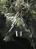 Ornamento d'attaccatura del pendente di cristallo dell'albero di Natale