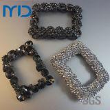 Boucle décorative de diamants brillants chaussures sandales pour femmes