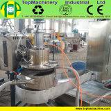 고용량은 필름 라피아 야자 부대에 의하여 길쌈된 짠것이 아닌 재생 기계 플라스틱 PE LDPE 필름 제림기 플랜트를 자루에 넣는다