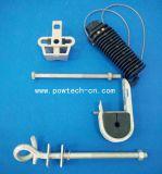preço de fábrica de aço galvanizado conjuntos de suspensão/Acessórios para Cabos de Fibra Óptica