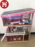 XL10198 as crianças de novo estilo casa de brinquedos a crianças estabelecer House Doll House DIY brinquedos de madeira